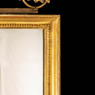 Late 18th Century Giltwood Mirror