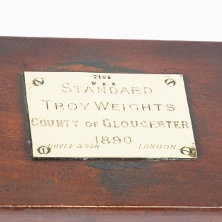 SET OF TROY STANDARD WEIGHTS