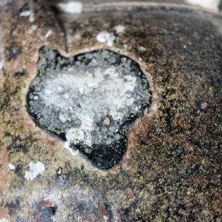 A 15thC Salvaged Shipwreck Sawankhalok Ceramic Jar from The Royal Nanhai c.1460
