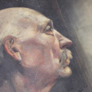 An Early 20thC British School Portrait of a Gentleman c.1915-25