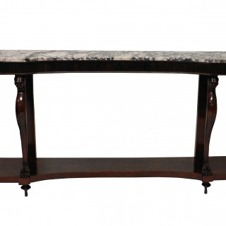 A MONUMENTAL ITALIAN NEO-CLASSICAL CONSOLE TABLE