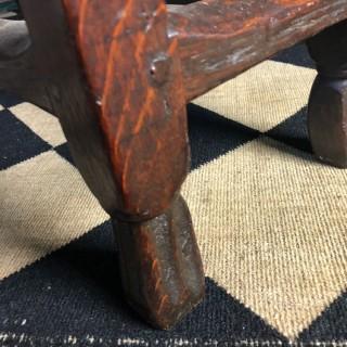 Late 17th Century Oak Gate Leg Table