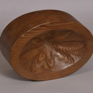 Antique Treen Late 19th Century Pitch Pine Moulding Block