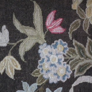 1777 Floral Bouquet Embroidery by Hannah Kent