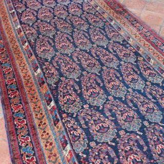 Rare Antique Afshar runner, South-West Persia