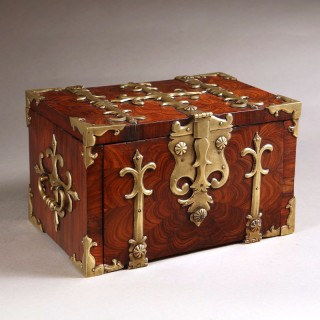 William and Mary Kingwood Strong Box