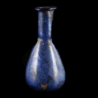 Exquisite Small Roman Glass Unguentarium