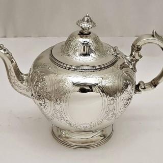 Antique Silver Tea Set
