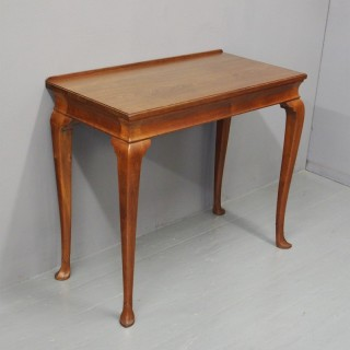 Padouk Hall Table by Whytock and Reid