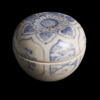 Ceramic Box from the Hoi An Wreck