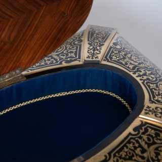 Napoleon III Boulle Marquetry Table Box