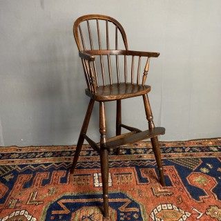 Child's Windsor High Chair C1880