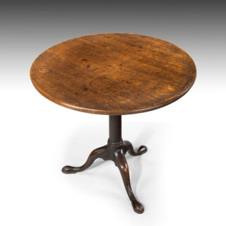 An Attractive George III Period Mahogany Tilt Topped Table.