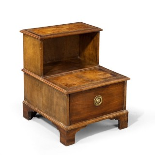 A Good George III Period Step Commode.