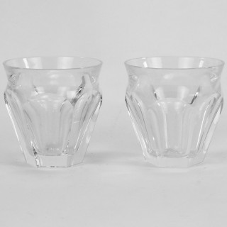 Pair of Baccarat Harcourt Talleyrand Espresso or Liqueur Glasses