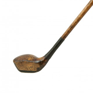 Golf Club, Hickory Brassie by R. Forgan of St Andrews