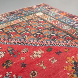 Early Moroccan carpet
