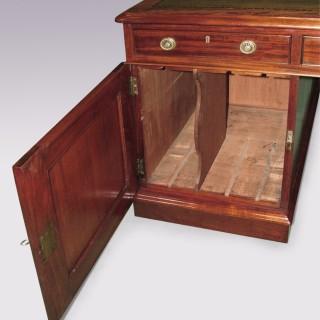 19th Century mahogany Partners Desk