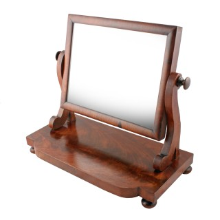Small Mid 19th Century Dressing Mirror