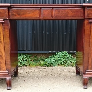 Early 19th Century George IV Period Mahogany Antique Sideboard