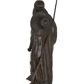 Bronze Orientalist sculptures by Salmson