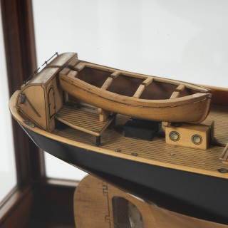 MODEL OF THE TRAWLER LOCK INVER