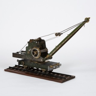 Stothert & Pitt RAILWAY STEAM CRANE MODEL