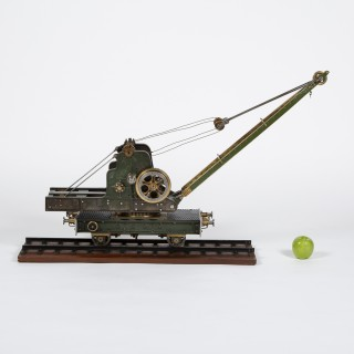 RAILWAY STEAM CRANE MODEL