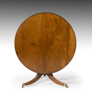 A Most Attractive Regency Period Tilt-Top Dining Table.
