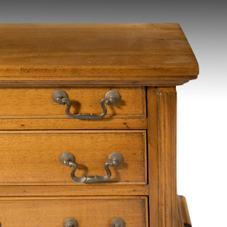A Finely Made Mid- 20th Century Golden Mahogany Chest of Drawers