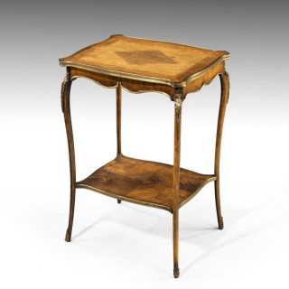 A Small and Very Fine Quality Late 19th Century French Centre Table