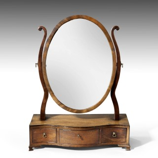 An Attractive George III Period Dressing Mirror