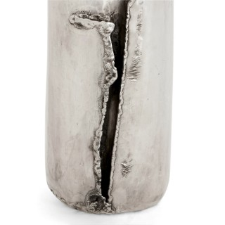 20th Century German silver bottle