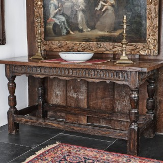 Charles I ash communion table