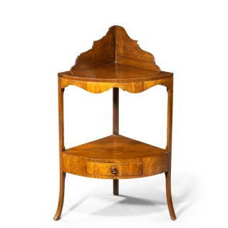 A George III Period Mahogany Modified Washstand