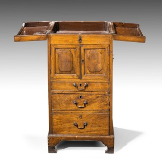 A Most Unusual George III Period Wash Stand in Exotic Eastern Wood