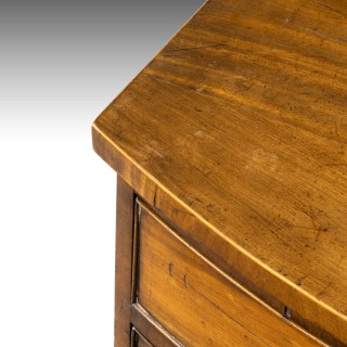 A Particularly Good George III Period Bow-Fronted Chest of Drawers