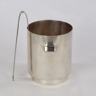Lino Sabattini for Christofle Ice Bucket and Tongs with Wine Cooler 1970s