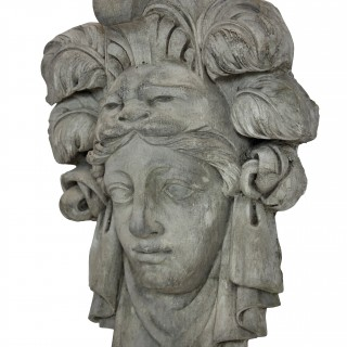 A PLASTER RELIEF OF ALEXANDER THE GREAT