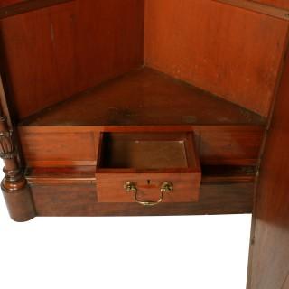 Victorian Corner Hall Wardrobe