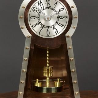 Arts And Crafts Copper Anniversary Clock