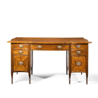 A Good George III Period Mahogany Sideboard