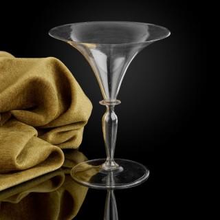 A fine Venetian wine glass, second half of the 16th century