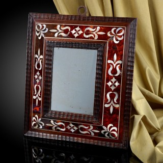 Spanish Colonial Mirror (Mexico, 17th century)