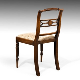 An Elegant Set of Four Whitehaven Regency Period Single Chairs
