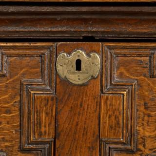 A Quite Exceptional Late 17th Century Oak Dresser Base