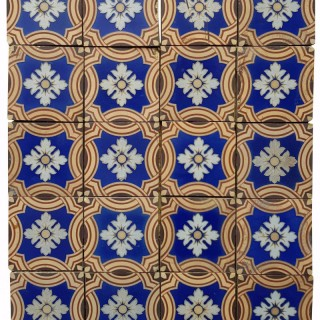Minton & Co. Encaustic Patterned Floor Tiles X 28