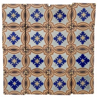 Minton & Co. Encaustic Patterned Floor Tiles X 30