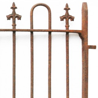 Pair Of Reclaimed Wrought Iron Entrance Gates