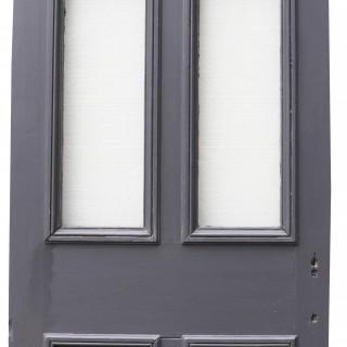 Antique Exterior Glazed Pine Door
